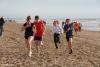 Mooie afsluiting van 10 strandlopen