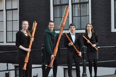Topensemble Parilis Concordia doorbreekt concertstilte in Oude Jeroenskerk in Noordwijk.