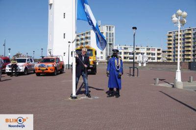 De Blauwe Vlag wappert weer in Noordwijk.