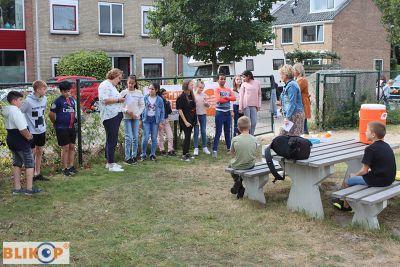 Taalklas Duin- en Bollenstreek in Noordwijkerhout is 'Goed Bezig' met project voeding. (foto's)