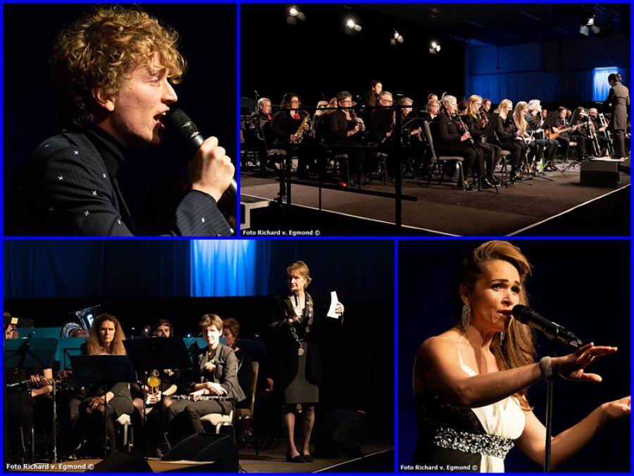 33ste nieuwjaarsconcert voor de eerste keer in de nieuwe Gemeente Noordwijk (foto's)