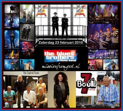 Keiebijters 'Goud van Oud' met The Blues Brothers Tribute Band, Aretha Franklin, Boule7-DJ Berthil van Wijk en The Expired Faces.