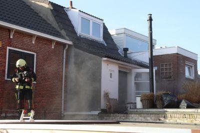 Brand in woning Piet Heinstraat