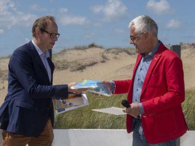 QualityCoast-vlag wappert weer 2 jaar in de gemeente Noordwijk.