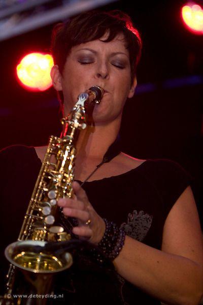 Saxofoniste Maureen Natzijl in tweede Lunchconcert Muziek in Jeroen
