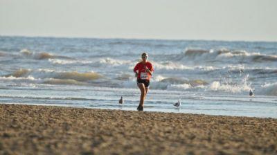 Strandlopen in 2021 ook alleen virtueel.