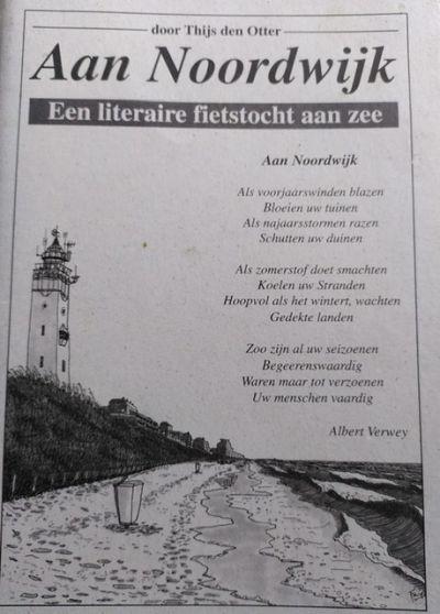 Literaire fiets- en wandeltocht aan zee.