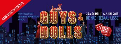 Koop nu snel kaarten voor de musical Guys & Dolls