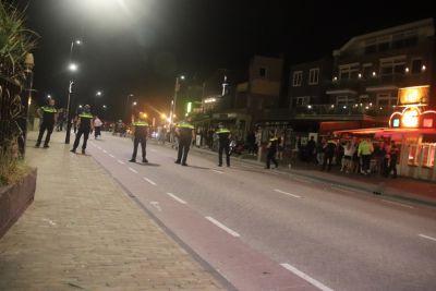 Massale vechtpartijen en twee aanhoudingen in uitgaansgebied