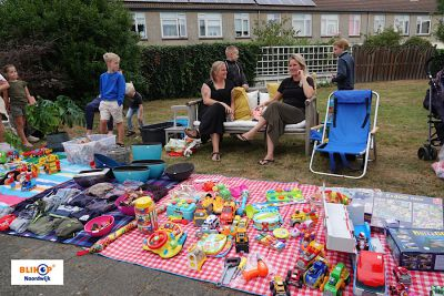 Vandaag: Gezellige rommelmarkt in de wijk Vinkeveld.