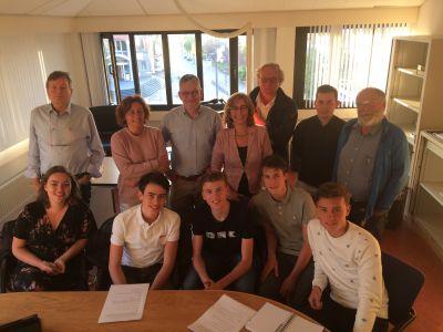 Leerlingen Northgo College vragen mening PvdA-GroenLinks over wifi-tracking