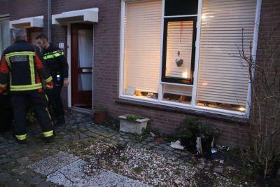 Auto ramt woning Zager Noordwijk