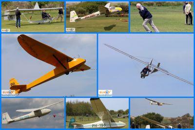 Historische zweefvliegtuigen bij de Kennemer Zweefvlieg Club. (foto's+filmpje)